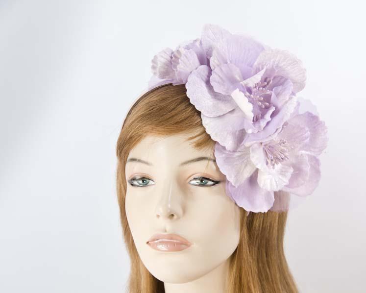 Lilac flowers headband
