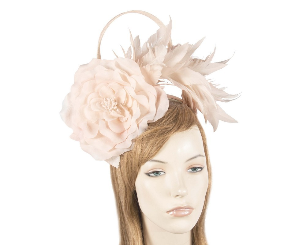 Pink racing fascinator by Max Alexander