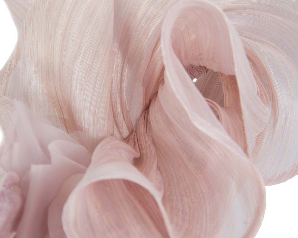 Blush racing fascinator by Fillies Collection